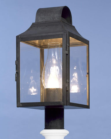 Post Mount Round Top Lantern LEPM-7