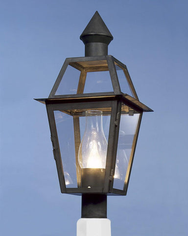Post Mount Cone Top Lantern LEPM-5