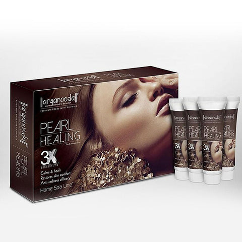 Aryanveda Pearl Healing 3X Home Spa Kit 55grm