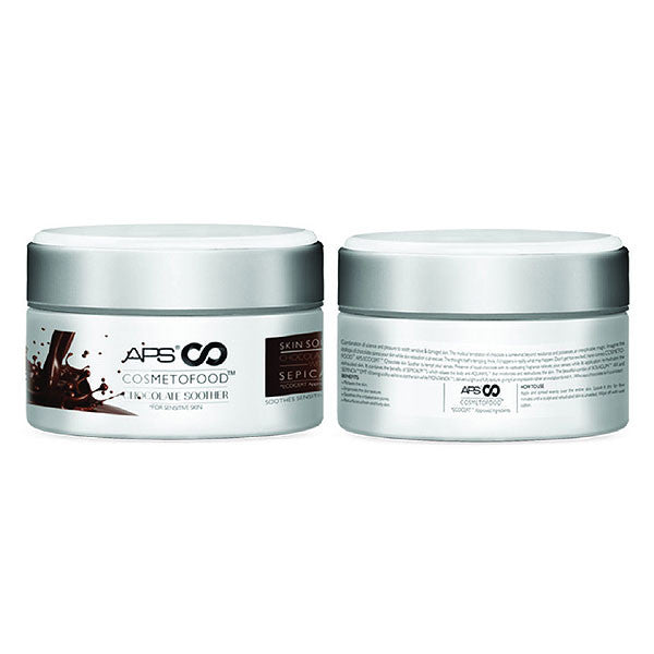 APS COSMETOFOOD CHOCOLATE SKIN SOOTHER 200grm