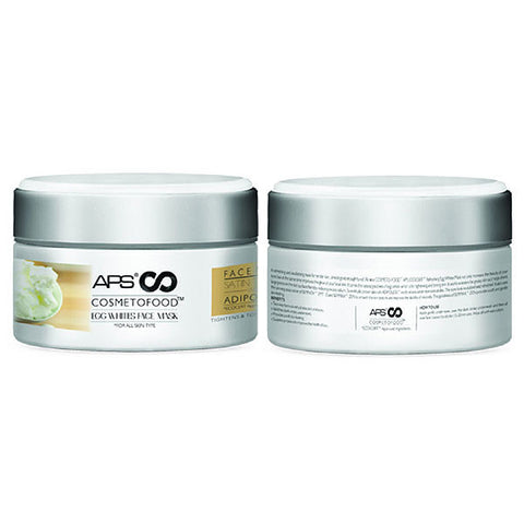 APS COSMETOFOOD EGG WHITES FACE MASK 200grm