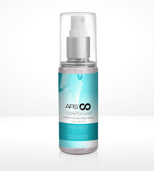 APS COSMETOFOOD ACTIVATED ORGANIC SPRING WATER 100ml