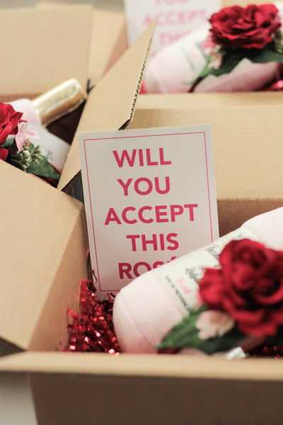 """BARX + BLOOMS NEW RELEASE: ""Will You Accept This Rosé?"" Box"