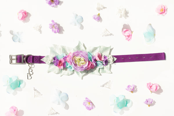"""BARX + BLOOMS NEW RELEASE: Mermaid"" Collar 