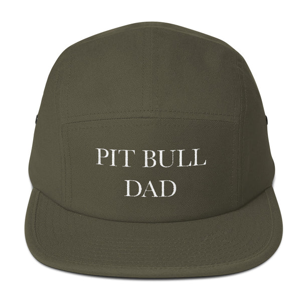 "MENS ACCESSORIES: Pit Bull Dad"" Five Panel Cap"