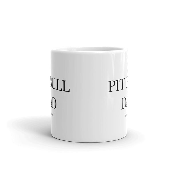 """BARX + BLOOMS NEW RELEASE: Pit Bull Dad"" Mug"