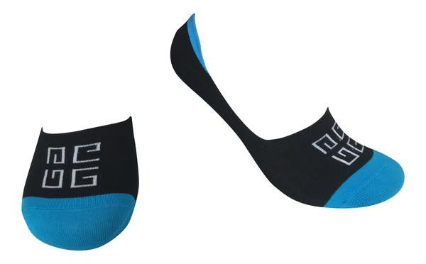No-Show Socks With Silicone Grip - Bora Bora Collection - 4 Pairs