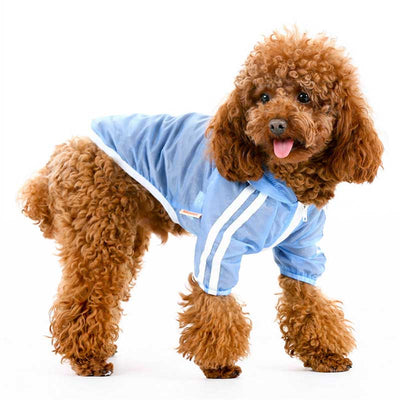 Adidas Blue Sporty UV Sun Protection Quick Dry Hoodie Pawsome Market