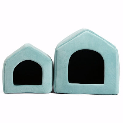 Blue Indoor Dog House Bed - 5 Colors Pawsome Market