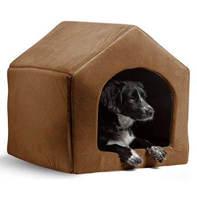 Brown Indoor Dog House Bed - 5 Colors Pawsome Market