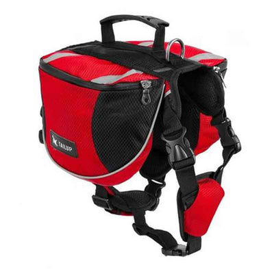 PawHike™ Buy Cheap Red Dog Backpack Saddle Bag For Travel Camping Hiking