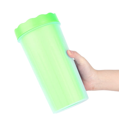 The best dog paw cleaning solution, Paw Wash™ Dog Paw Cleaner in green color