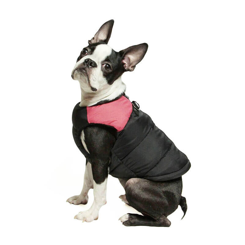 Black-and-red-Waterproof-Winter-Dog-Vests-for-small-large-dogs-cheap-PitBull