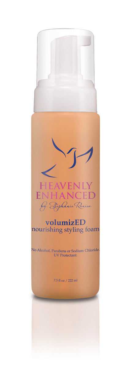 volumizED - nourishing styling foam