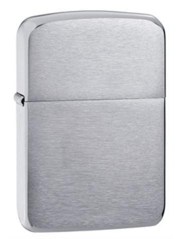 1941 Replica Brushed Crome Zippo Lighter
