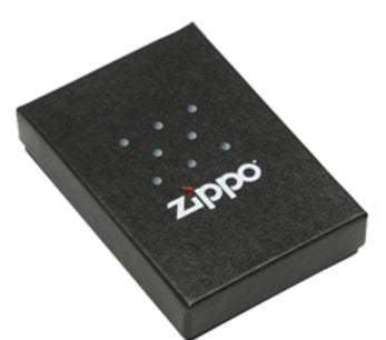 Slim Black Ice Zippo Lighter