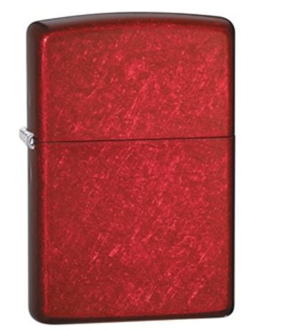 Classic Candy Apple Red Zippo Lighter