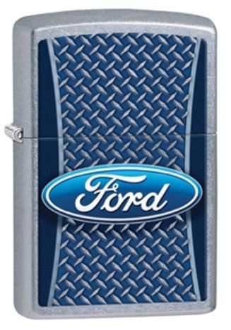 Ford logo Street Chrome