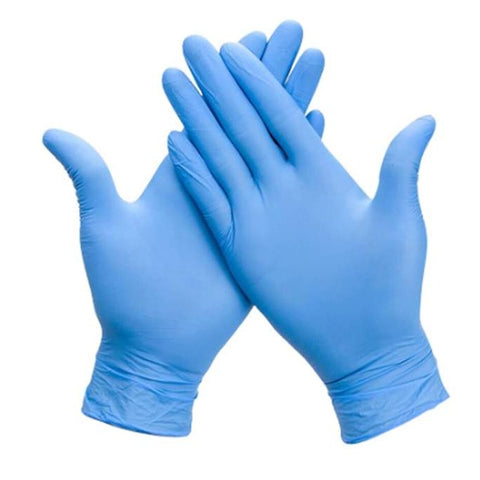 Blue Nitrile Gloves (100pc/Box) [Limited 4]
