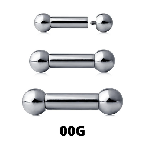 00G Internally Threaded Barbell