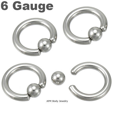 Giant Captive Ring 6g