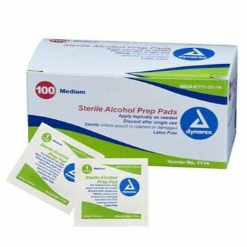 Alcohol Prep Pad Wipe (100pc/Box) [Limited 4]