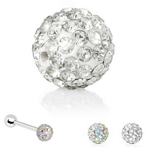 Ferido Multi CZ Crystal Loose Ball