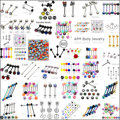 Body Piercing Jewelry Wholesale I Starter Package Assortment