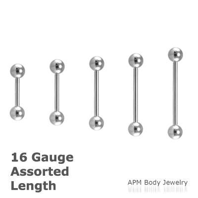 Wholesale Body Jewelry 16G Barbell