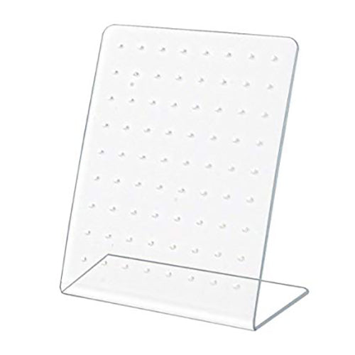 L-Shape Acrylic Display with 72 holes