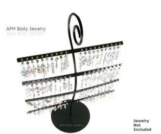 Body Jewelry Metal Wire Display (No Jewelry)