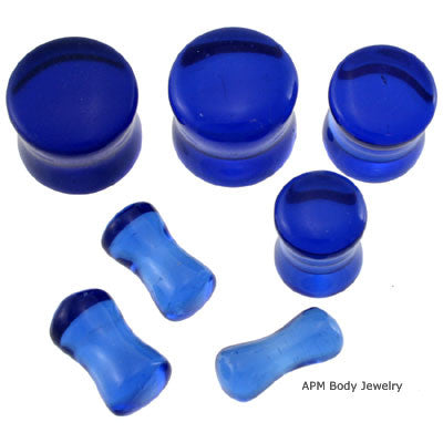 wholesale body jewelry Blue Organic Ear Plugs
