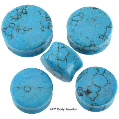Wholesale Turquoise Stone Plugs