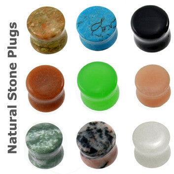 Top Mix 20pc Stone Saddle Plug 8g-0g