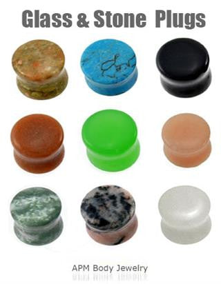 Wholesale Stone Plugs
