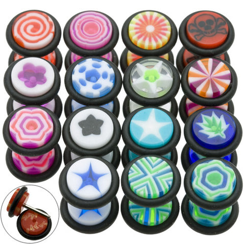 Top Mix Novelty UV Cheater Plugs