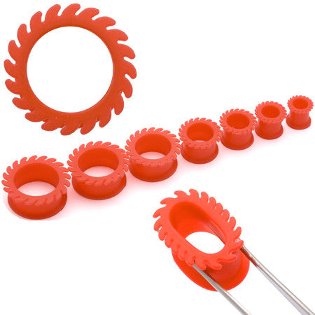 Giant Red Saw Silicone Tunnel