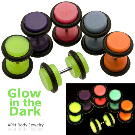 Glow in the Dark Cheater Plugs