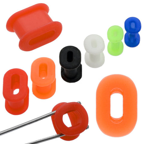 Oval Flexible Silicone Tunnel