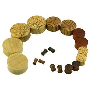 Top Mix 40PC Saddle Wood Plugs