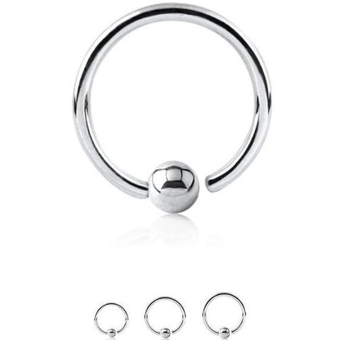 Wholesale Body Jewelry I Fixed ball Captive Ring