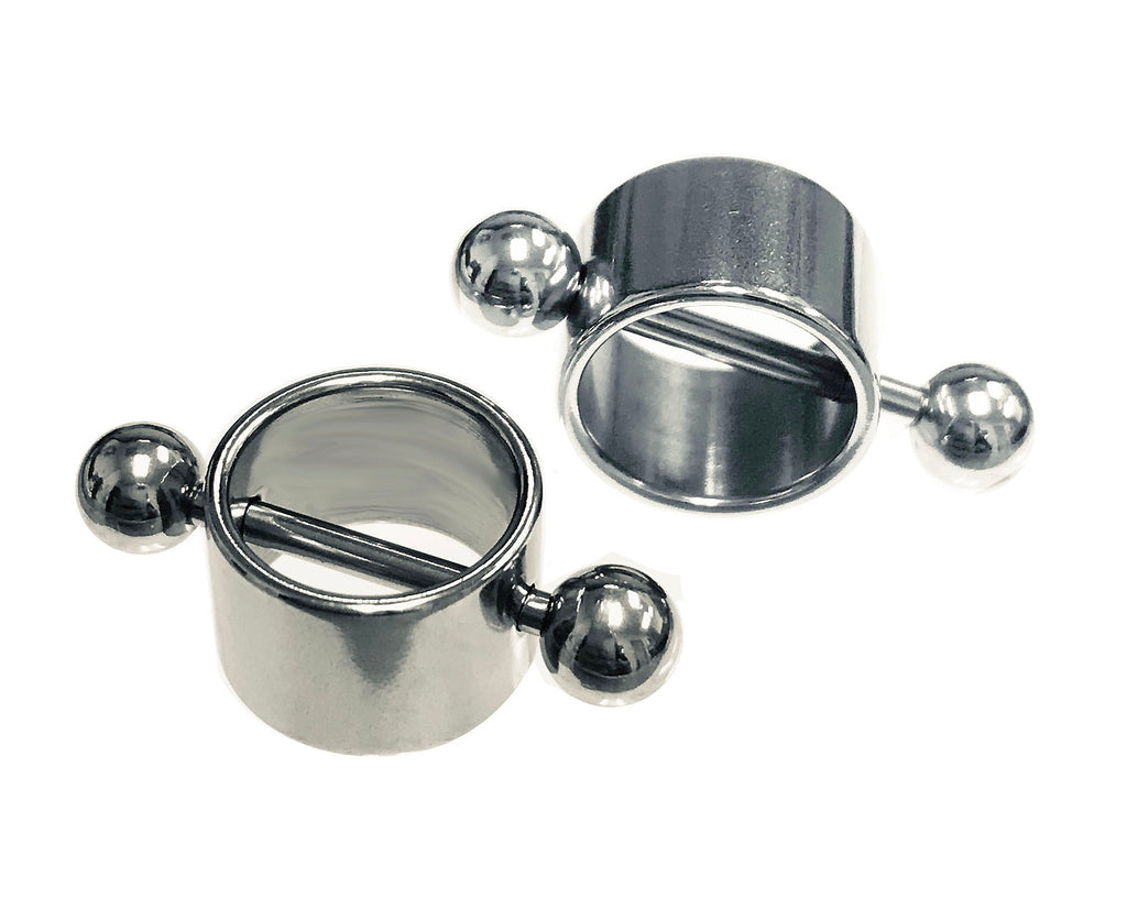 Plain Round Shield Nipple Barbell