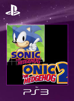 Sonic The Hedgehog 1 + 2 PS3