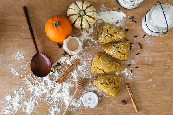 PERFECT PAIRINGS | Pumpkin Spice Scones