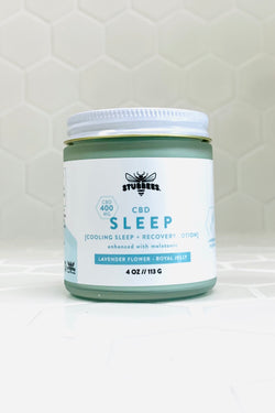 SLEEP [cooling sleep + recovery lotion] 400MG CBD