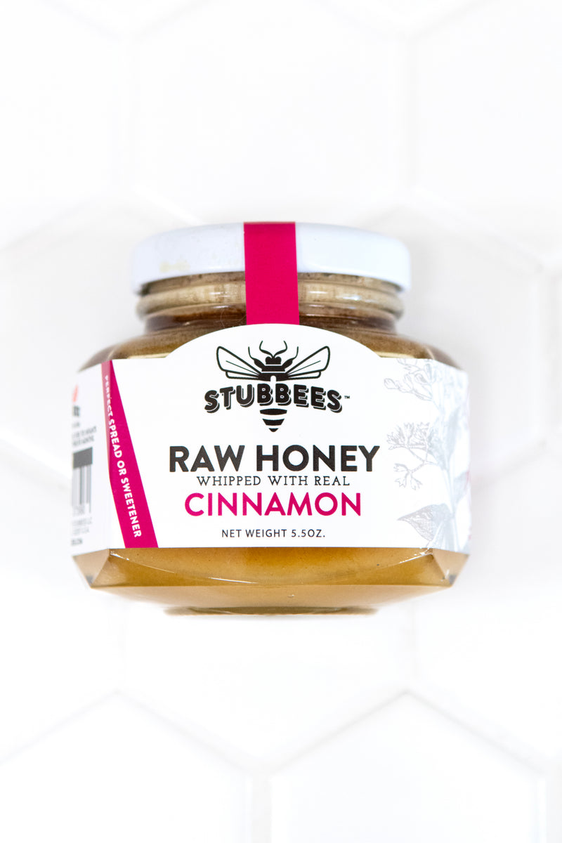 CINNAMON Whipped Raw Honey