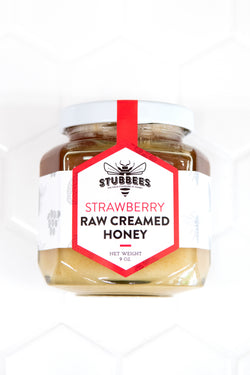 STRAWBERRY Whipped Raw Honey