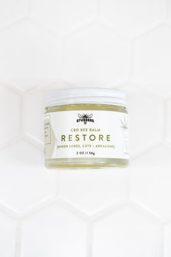 RESTORE [minor sores, cuts + abrasions salve] 600MG CBD