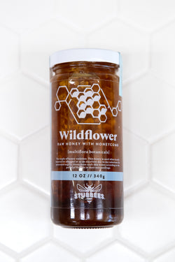 WILDFLOWER Raw Honey w/ HONEYCOMB