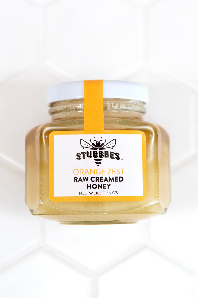 ORANGE ZEST Whipped Raw Honey